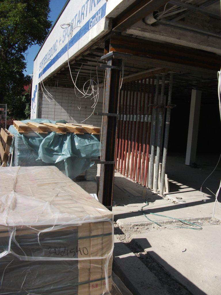 Umbau eines Ladengeschäftes zur Bäckereifiliale Görtz